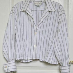 1980s Vintage Emanuel Ungaro button down blouse